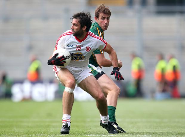 Standing tall: Joe McMahon was imperious against Meath last week