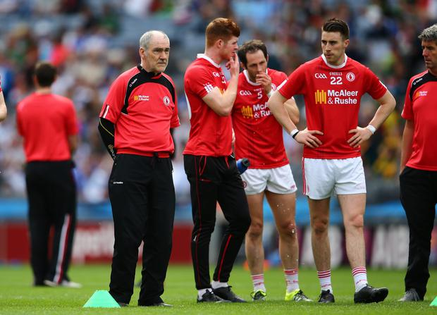 Hitting back: Mickey Harte wants more emphasis on the positives in gaelic football