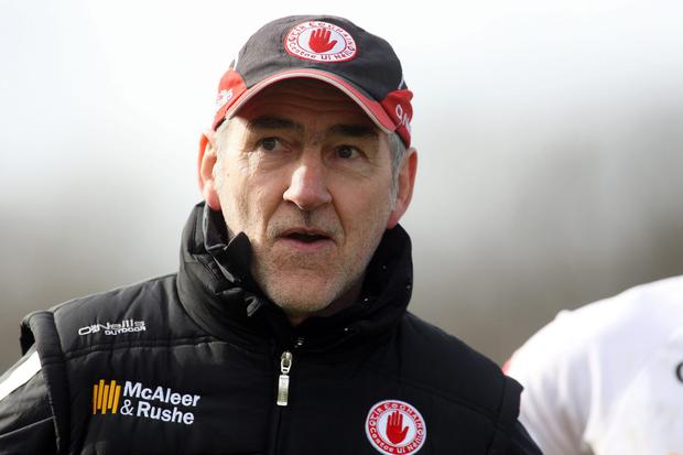 Wise head: Mickey Harte already preparing for 2016