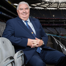 Hotseat: Ireland boss Joe Kernan at yesterday's squad announcement at Croke Park