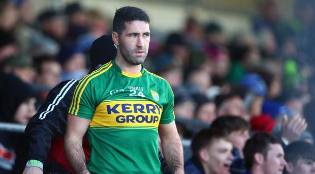 Stepping down: Kerry's Bryan Sheehan has retired