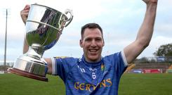Silver lining: Coalisland's Stephen McNally with the Tyrone title