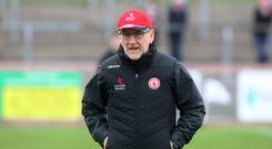Joy division: Mickey Harte is sure players get enjoyment from game