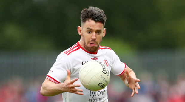 Pressure point: Tyrone skipper Mattie Donnelly believes his side is fired up to face Derry