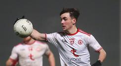 In form: Darragh Canavan can inspire Tyrone when they face Cork tomorrow in the All-Ireland U20 semi-final in Tullamore