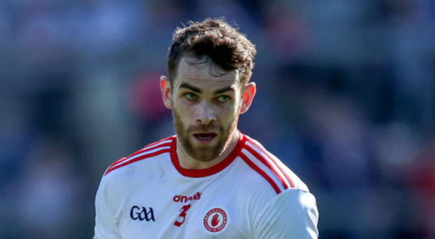 Rock solid: Tyrone will need Ronan McNamee to be a defensive pillar for them against Dublin