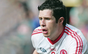 Prize guy: Tyrone's Sean Cavanagh is aiming for his second medal in five days on Sunday, this time with Ulster, after  returning from injury