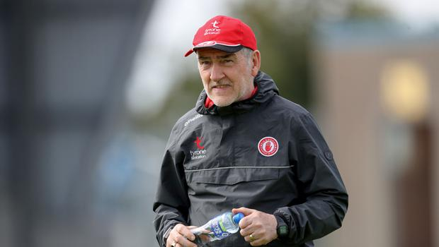 Prize guy: Tyrone boss Mickey Harte is out to build on McKenna Cup triumph