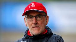 Biting back: Tyrone boss Mickey Harte feels demands on players are realistic