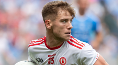 Back again: Mark Bradley is set to rejoin the Tyrone team for 2020