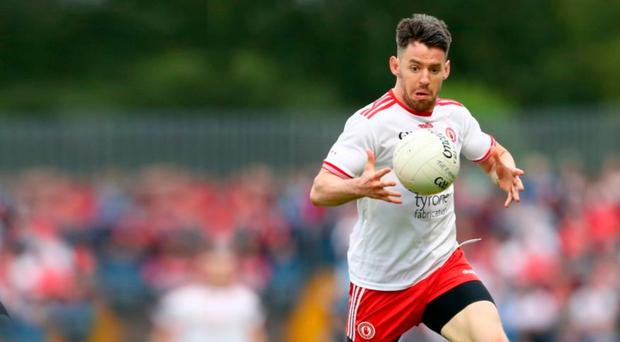 Title drive: Mattie Donnelly is targeting Ulster Club Championship progress for Trillick