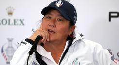 Pat Hurst is the new USA Solheim Cup captain (Jane Barlow/PA)