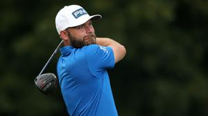 Andy Sullivan holds a three-shot lead after 36 holes of the Golf in Dubai Championship (Adam Davy/PA)