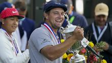 Bryson DeChambeau won his first major title in the 120th US Open at Winged Foot (John Minchillo/AP)