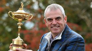 Paul McGinley led Europe to Ryder Cup success in 2014 (Andrew Milligan/PA)