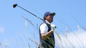 Phil Mickelson has criticised the decision to restrict club length in an attempt to rein in driving distances (Gareth Fuller/PA)
