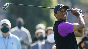 Tiger Woods carded a third round of 72 in the Masters (Charlie Riedel/AP)