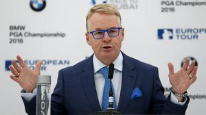 European Tour chief executive Keith Pelley is upbeat about the prospect of golf resuming this summer (Steve Paston/PA)