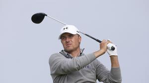 Jordan Spieth held the upper hand heading into the closing stages in Atlanta
