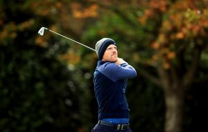 David Horsey is four off the lead after 54 holes of the BMW PGA Championship (Adam Davy/PA)