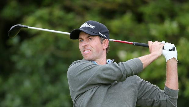 Webb Simpson holds a seven-shot lead going into the final round at Sawgrass (Richard Sellers/PA)