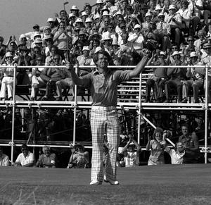 Tom Watson won the Open Championship at Turnberry in 1977 (PA Archive)
