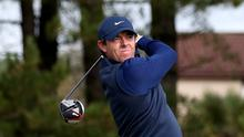 World number one Rory McIlroy carded an opening 68 in the Genesis Invitational (Jane Barlow/PA)