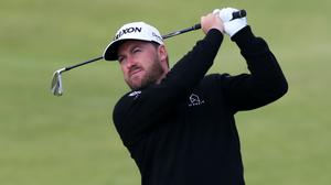 Graeme McDowell has withdrawn from this week's Travelers Championship after his caddie tested positive for coronavirus (Niall Carson/PA)