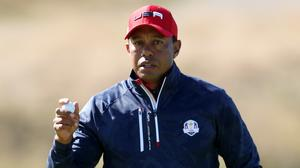 Tiger Woods believes postponing the Ryder Cup was the right decision (David Davies/PA)