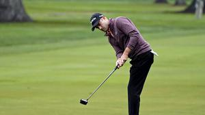Russell Knox is in the lead in Napa, California (Eric Risberg/AP)