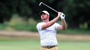 England's Sam Horsfield holds a share of the halfway lead at the Hero Open (Mike Egerton/PA)