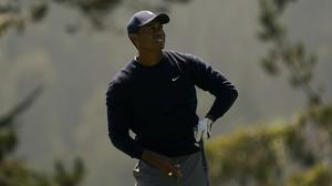Tiger Woods got off to a slow start in the third round of the US PGA Championship (AP Photo/Jeff Chiu)