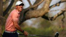 Looking on: Rory McIlroy during the final round of the WGC-Mexico Championship