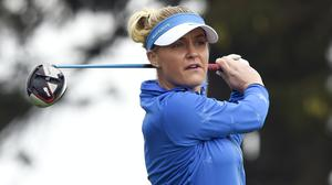 Charley Hull was England's leading hope at the 2020 Evian Championship (Ian Rutherford/PA)