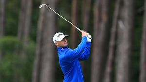 David Law held a one-shot lead after the first round of the British Masters at Close House (Mike Egerton/PA)