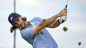 Tommy Fleetwood missed the cut at the 3M Open on his return to competitive action (Andy Clayton-King/AP)