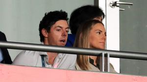Rory McIlroy's and wife Erica Stoll (Adam Davy/PA)