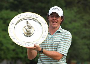US title Big moment: Rory McIlroy celebrates at Quail Hollow in 2010
