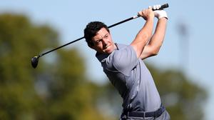 Rory McIlroy is back in action for the first time since the Ryder Cup in the WGC-HSBC Champions