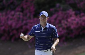 Rory McIlroy faces an uphill battle to win a first Masters title. (AP Photo/David J. Phillip)