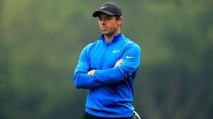 Rory McIlroy has committed to playing the first three PGA Tour events following its June 11 restart (Adam Davy/PA)