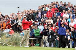 McIlroy, pictured here in 2012, knows his way around the Dunluce links (Paul Faith/PA)