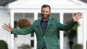 Dustin Johnson is hoping for more major success after his Masters win (Curtis Compton/Atlanta Journal-Constitution via AP)