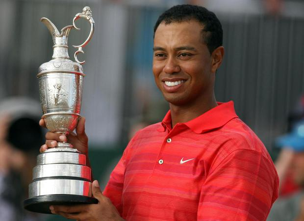 Woods last won the Open Championship in 2006 at Royal Liverpool (Gareth Copley/PA)