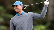 Tiger Woods will defend his Masters title in April (Richard Sellers/PA)