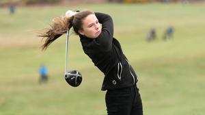 Beth Coulter hit a four-under 70