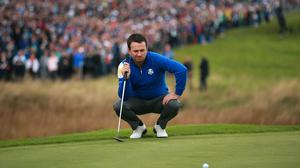 Graeme McDowell made a good start in the defence of his title