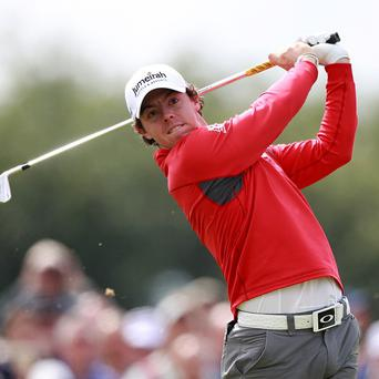 Rory McIlroy, pictured, and Tiger Woods are set to play the same tournaments three weeks in a row