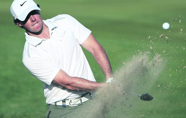 Rory McIlroy faces Shane Lowry in Tuscon