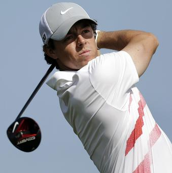Rory McIlroy called it a day on the 18th hole - his ninth - in Florida